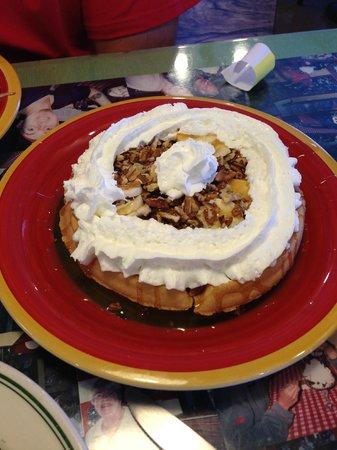 Java Joe's Cafe: Banana Caramel Waffle