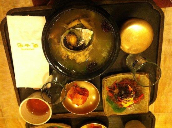 Rakkojae Seoul: 夕御飯