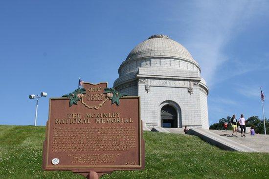 Residence Inn Canton : McKinley's tomb