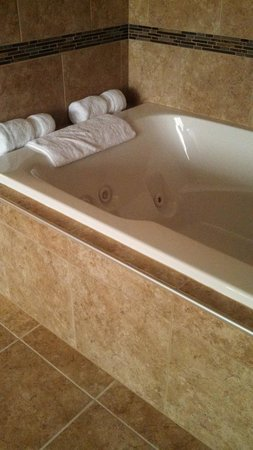 BEST WESTERN PREMIER Waterfront Hotel & Convention Center: Our private whirlpool