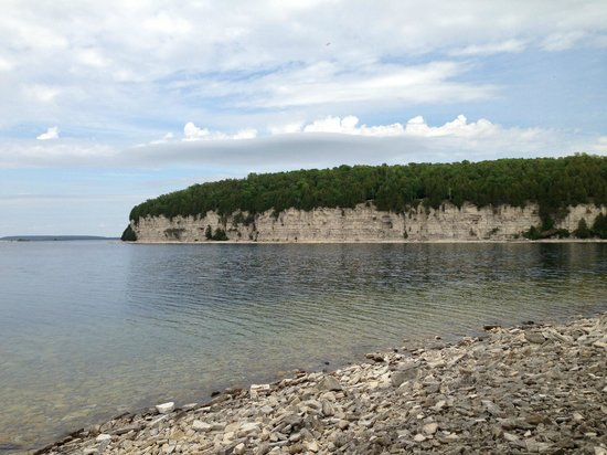 Limestone Cliffs At Fayette Picture Of Fayette Historic State Park Garden Tripadvisor