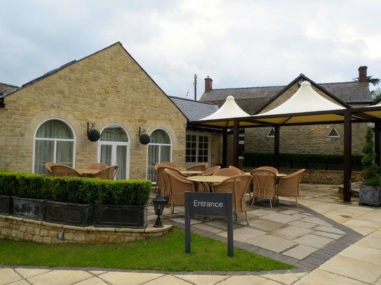 Number Four at Stow Hotel & Restaurant: Patio