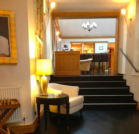 Number Four at Stow Hotel & Restaurant: Reception area