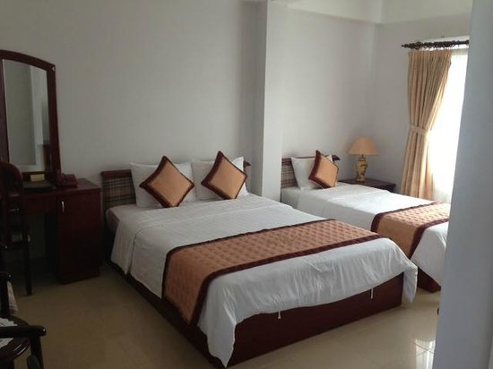 CCentral Hotel Bui Vien: Delux room