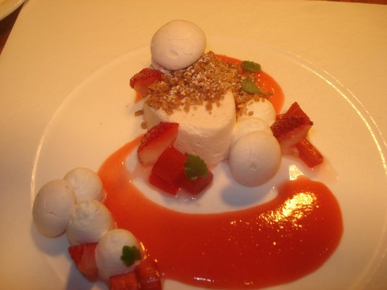 Artisans at the Lake Placid Lodge : Wonderfully tasty dessert