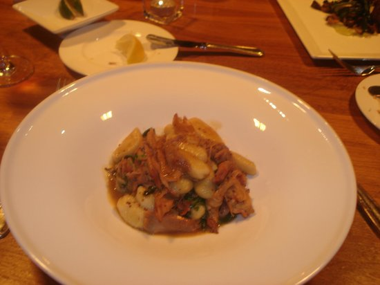 Rabbit confit - Picture of Artisans at the Lake Placid Lodge, Lake ...