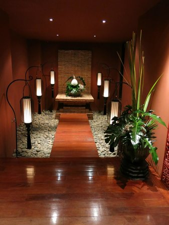 Siripanna Villa Resort & Spa : Foyer alcove 2