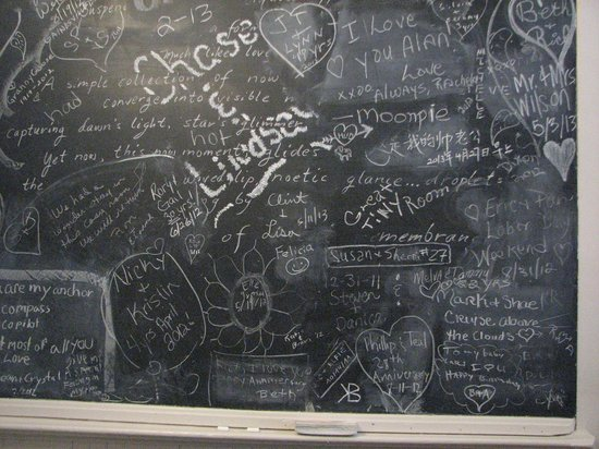 Carr Manor: The chalkboard