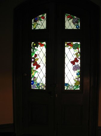 Century House Bed and Breakfast : Lovely Stained Glass Door