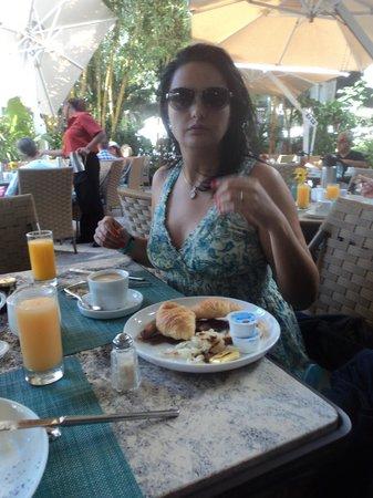 The Palms Hotel & Spa: El fantástico desayuno del The Palms Hotel