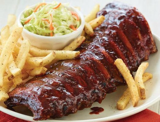 Charlie and Jake's Barbeque : Baby Back Ribs