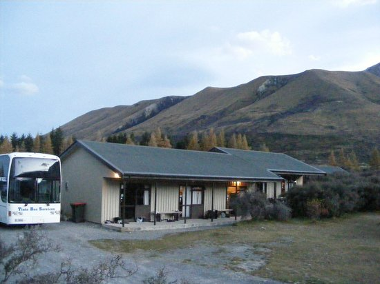 Mount Cook Glentanner Park Centre: Bunkrooms each sleep 10.  Have a toilet attached.