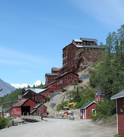 ‪‪Kennicott Glacier Lodge‬: Kennecott Mine Mill Building‬