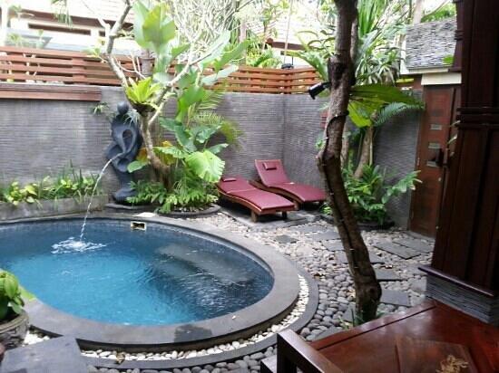 The Bali Dream Suite Villa: Out doors