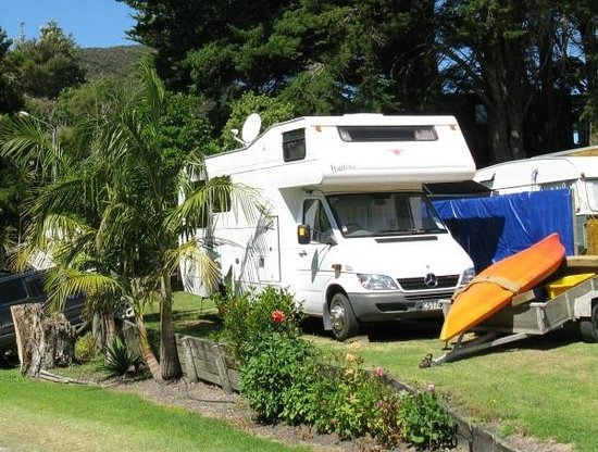 Wagener Holiday Park : Rated at 89% on Rankers and 80% on AA - classic NZ camping