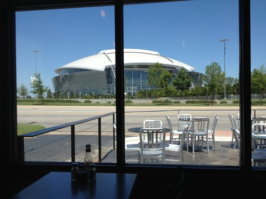 Fishbone Grill & Sports Bar: View from Fishbone!!