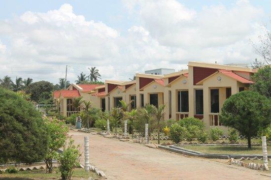 Resort Hirak Jayanti : Ariel view of the resort