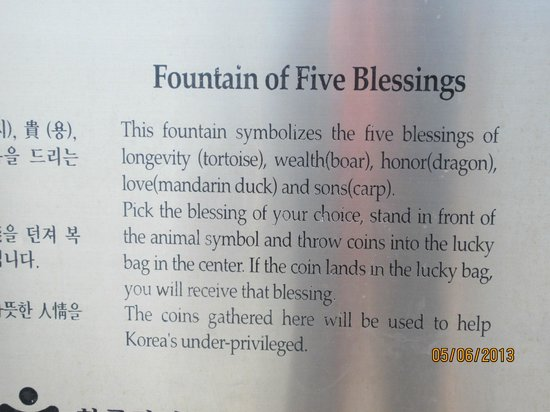 Cheonjeyeon Falls: The Information on the Fountain