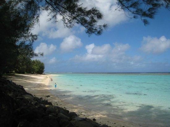 Aroa Kainga: Nearby beach, it's very good