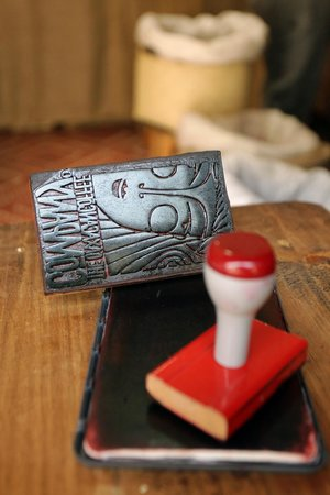 The Oaxacan Coffee Company: stamp for package
