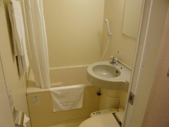 Hotel Route Inn Hirosaki Ekimae: Bathroom