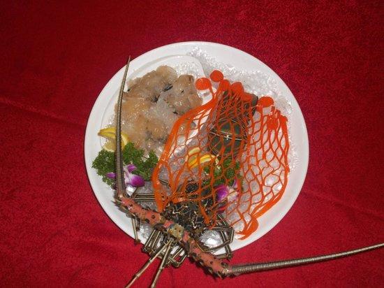 Nagoya Seafood Restaurant Sdn Bhd: LOBSTER SASHIMI
