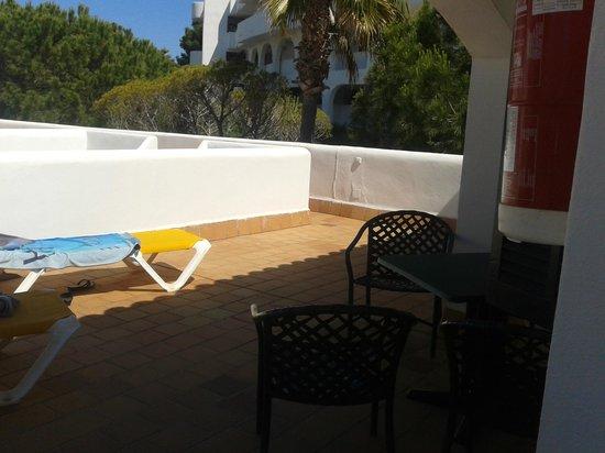 Es Bolero Aparthotel: terrace