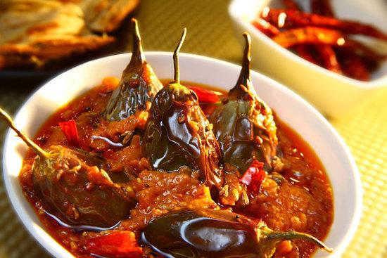 Park Plaza Delhi CBD Shahdara: Achari Baingan at Chingari - Fine dining indian restaurant