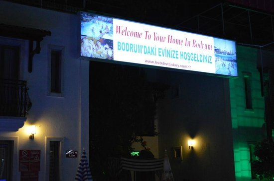 Hotel Istankoy Bodrum: Entrance new
