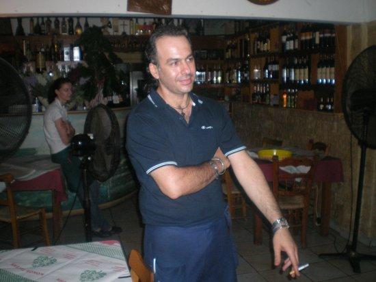 Pervolia, Cyprus: waiter