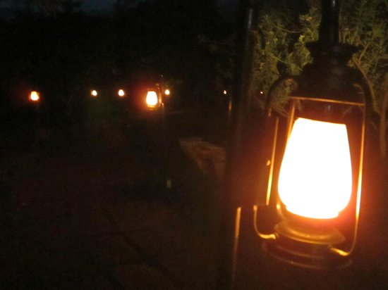 Our Native Village: with solar lamps