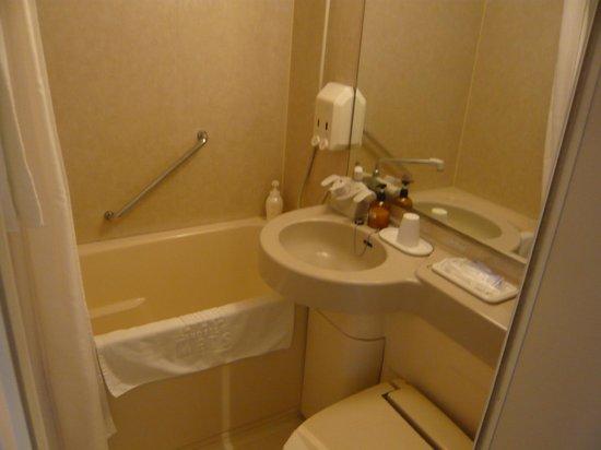 Mets Hachinohe Hotel: Bathroom