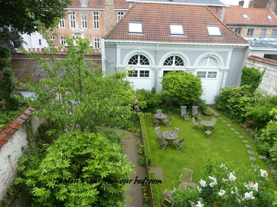 Hotel Patritius: View from Bedroom