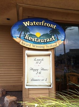 Waterfront Restaurant: Add a caption