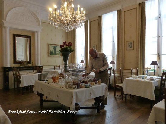 Hotel Patritius: Breakfast room