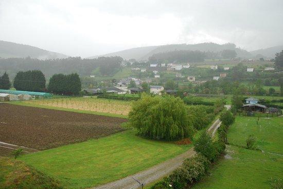 La Casona de Amaido: Un dia de lluvia, tiene su encanto