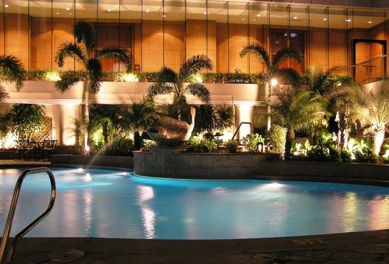 Pan Pacific Manila: Swimming Pool Area