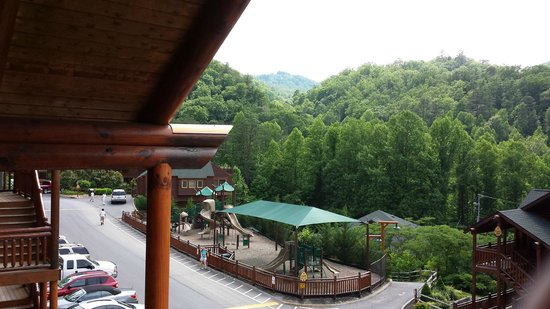 Westgate Smoky Mountain Resort & Spa: View from balcony