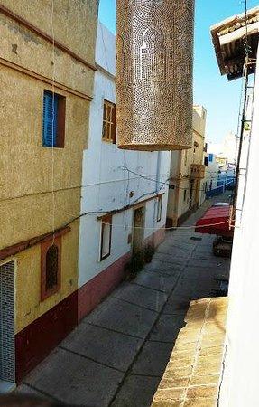 Maison de charme Dar Azaouia : vista desde la ventana de la habitacion