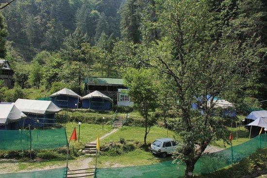 Tirthan Jibhi Camp