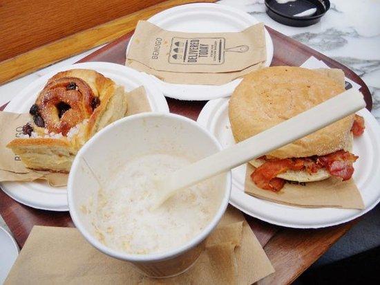 Benugo - Waterloo Station: Breakfast