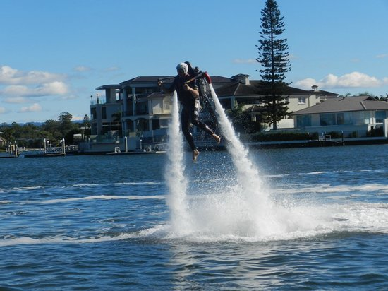 Jetpack Flyboard Adventures: Flying!