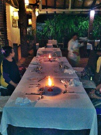 Le Jaenzan Restaurant: good ambiance