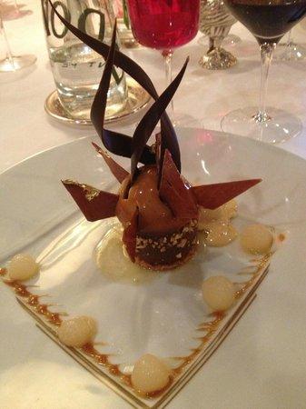 Georges Blanc Parc & Spa : un dessert  parmi les autres