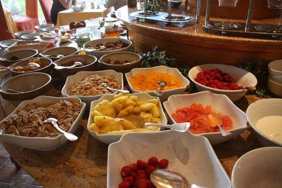 Georges Blanc Parc & Spa : les fruits du petit déjeuner