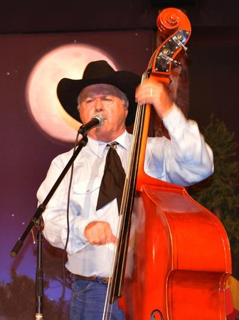 Ebenezer's Barn & Grill : Bass fiddle