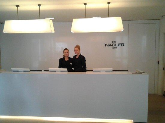 The Nadler Soho: Hotel Reception