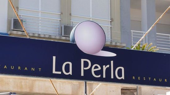 Restaurante La Perla: Fachada