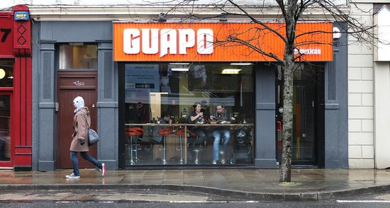 Guapo: Front of Restaurant