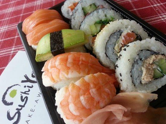Sushi Yaki: Smidig och mkt fräsch take away!